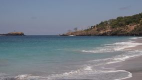Ocean waves. Bali island. Tropical landscape. Ocean waves. Bali island Indonesia stock video