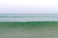 Ocean waves and beach with sand  on Koh Lanta, Krabi,Thailand Royalty Free Stock Image