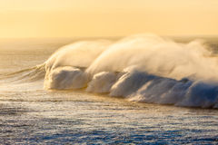 Ocean Waves Big Power Spray  Stock Image