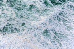 Ocean waves. Close up photo of splashing ocean waves royalty free stock image