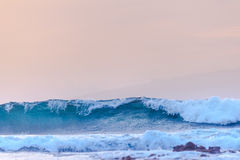 Ocean waves of the coast Royalty Free Stock Image