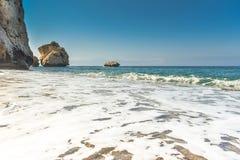 Ocean waves on coastline Stock Photography