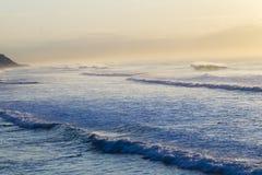 Ocean Waves Dawn Stock Image