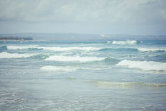 Ocean waves. Indian ocean. Royalty Free Stock Photos