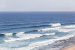 Ocean Waves Landscape Stock Image