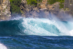 Ocean waves.Lombok island.Indonesia. Royalty Free Stock Image
