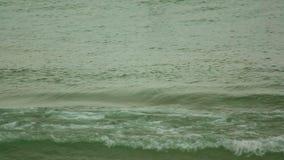 Ocean waves. Near tropical beach stock video footage