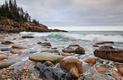 Ocean Waves in Otter Point Stock Images