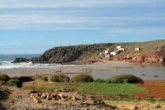Ocean waves and rocks in Atlantic coast Stock Images