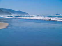 Ocean Waves on the Shore Royalty Free Stock Photo