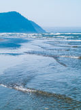 Ocean Waves on the Shore Royalty Free Stock Images