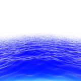 Ocean waves skyline Stock Images