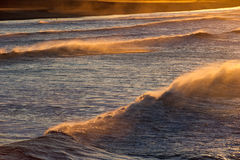 Ocean waves in Southern California Stock Photography