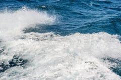 Ocean waves splash Royalty Free Stock Images
