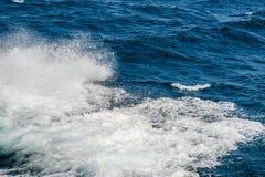 Ocean waves splash Royalty Free Stock Photography