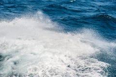 Ocean waves splash Royalty Free Stock Image