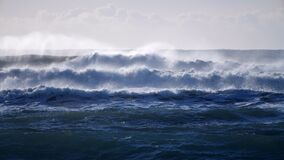 Ocean Waves During a Storm