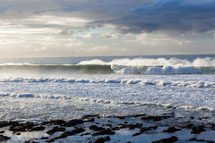 Ocean Waves Storms Stock Photography