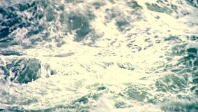 Ocean waves, tsunami waves, Hurricane, Typhoon. In japan stock video