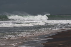 Stormy Sea Waters before storm Royalty Free Stock Photos