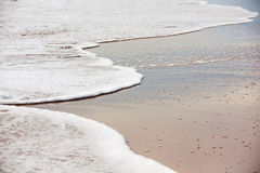 Ocean waves at Virginia Beach Stock Photography