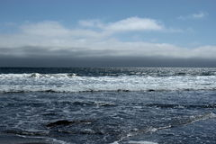Ocean. Waves on a warm summer day stock image