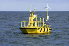 Ocean Weather Research Buoy Stock Image