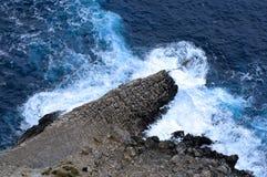 Ocean weaves. Very colorful blue ocean weaves stock photos