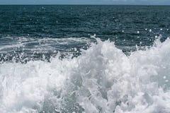 Ocean splashes Stock Photography