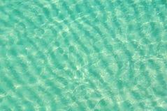 ocean widok płyciźnie lotniczego Zdjęcia Royalty Free