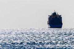 Ocean Winds Ship Containers Stock Images