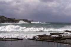 Southern Ocean Winter storm Royalty Free Stock Photo