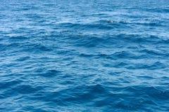 Ocean wody powierzchni tekstura obrazy stock