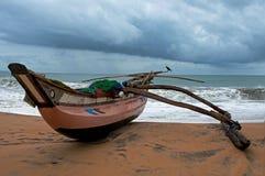 Ocean wood fish boat Royalty Free Stock Photography