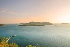 Ocean wysp krajobraz Fotografia Stock