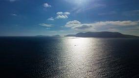 Ocean wzdłuż Dingle Paninsula zdjęcie stock