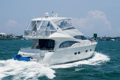Ocean Yacht Royalty Free Stock Images