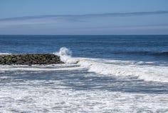 Ocean z widokiem obrazy royalty free