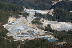 Oceana gold mine Stock Images