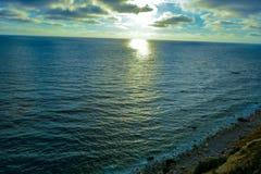 Oceanablauw Stock Foto