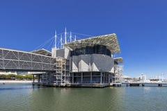 Oceanario de Lisboa Lisbon aka oceanarium w Parque das Nacoes Obrazy Royalty Free