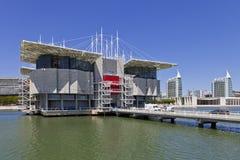 Oceanario de Lissabon/Oceanarium - Lissabon Arkivbild