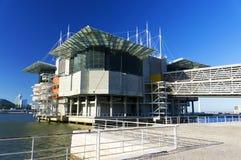 Oceanarium av Lissabon Royaltyfri Fotografi