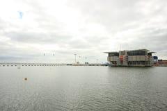 oceanarium de Lisbonne Photo stock