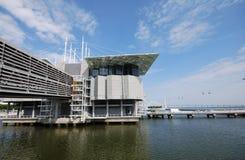 Oceanarium famoso em Lisboa (Portugal) foto de stock