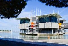 Oceanarium Lisboa Fotos de archivo libres de regalías