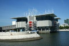 Oceanarium in Lisbon Stock Image