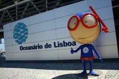 Oceanarium in Lissabon royalty-vrije stock afbeelding