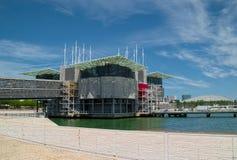 Oceanarium in Lissabon Lizenzfreie Stockbilder