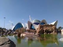 Oceanarium. `Oceanografic` in City of Arts and Sciences in Valencia Stock Photo